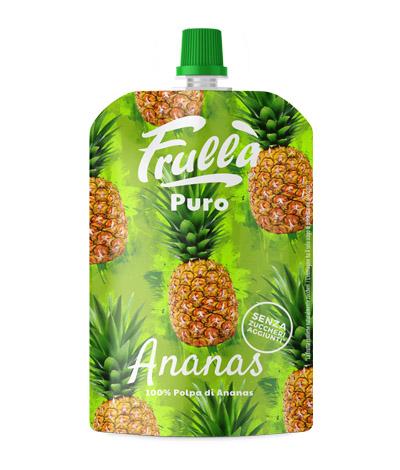 frullato di ananas in sacchetto