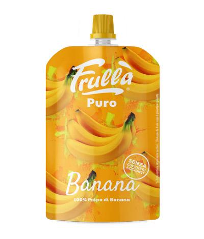 frullato di banana in sacchetto