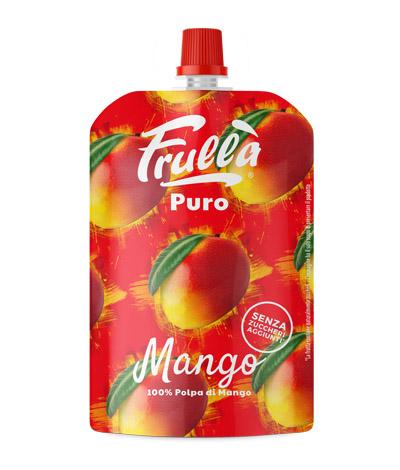 frullato di mango in sacchetto