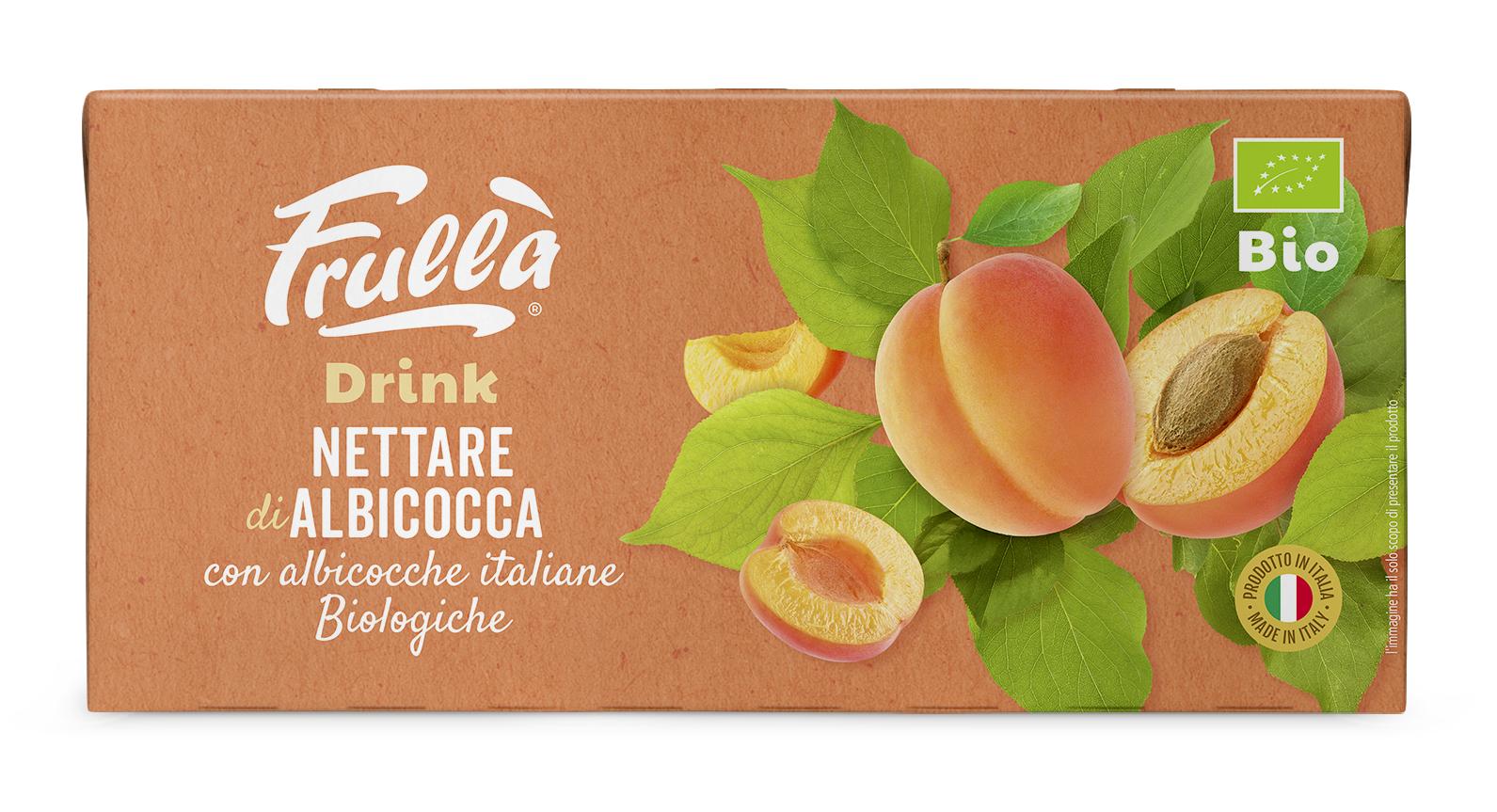 Frullà Drink Nettare di Albicocca 3X200 ml