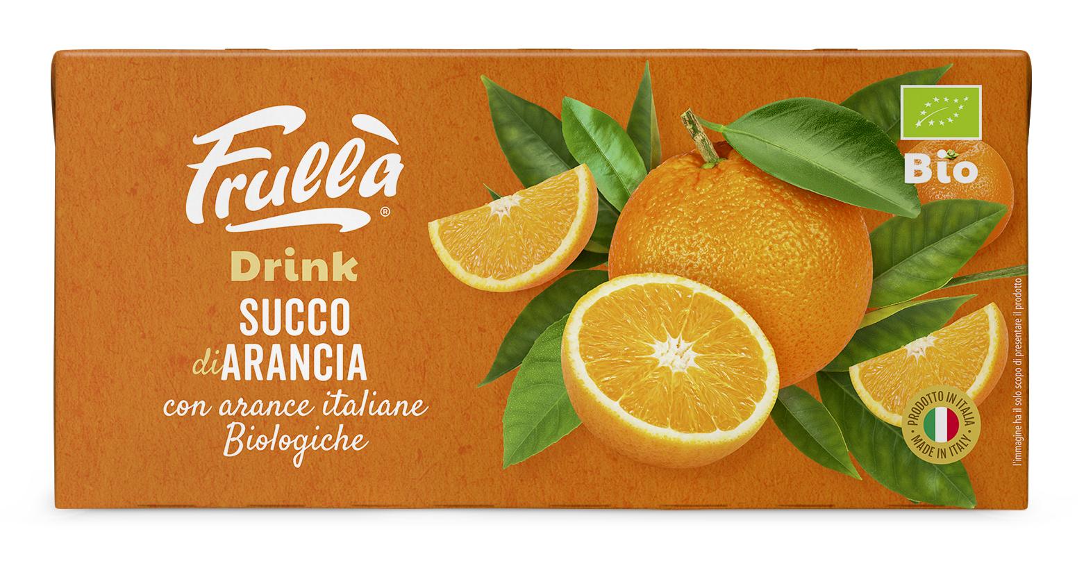 Frullà Drink Succo di Arancia 3X200 ml